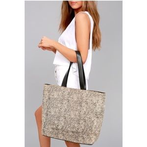 Amuse Society Carry On Tote - cheetah